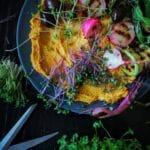 хумус нисковъглехидратен с моркови