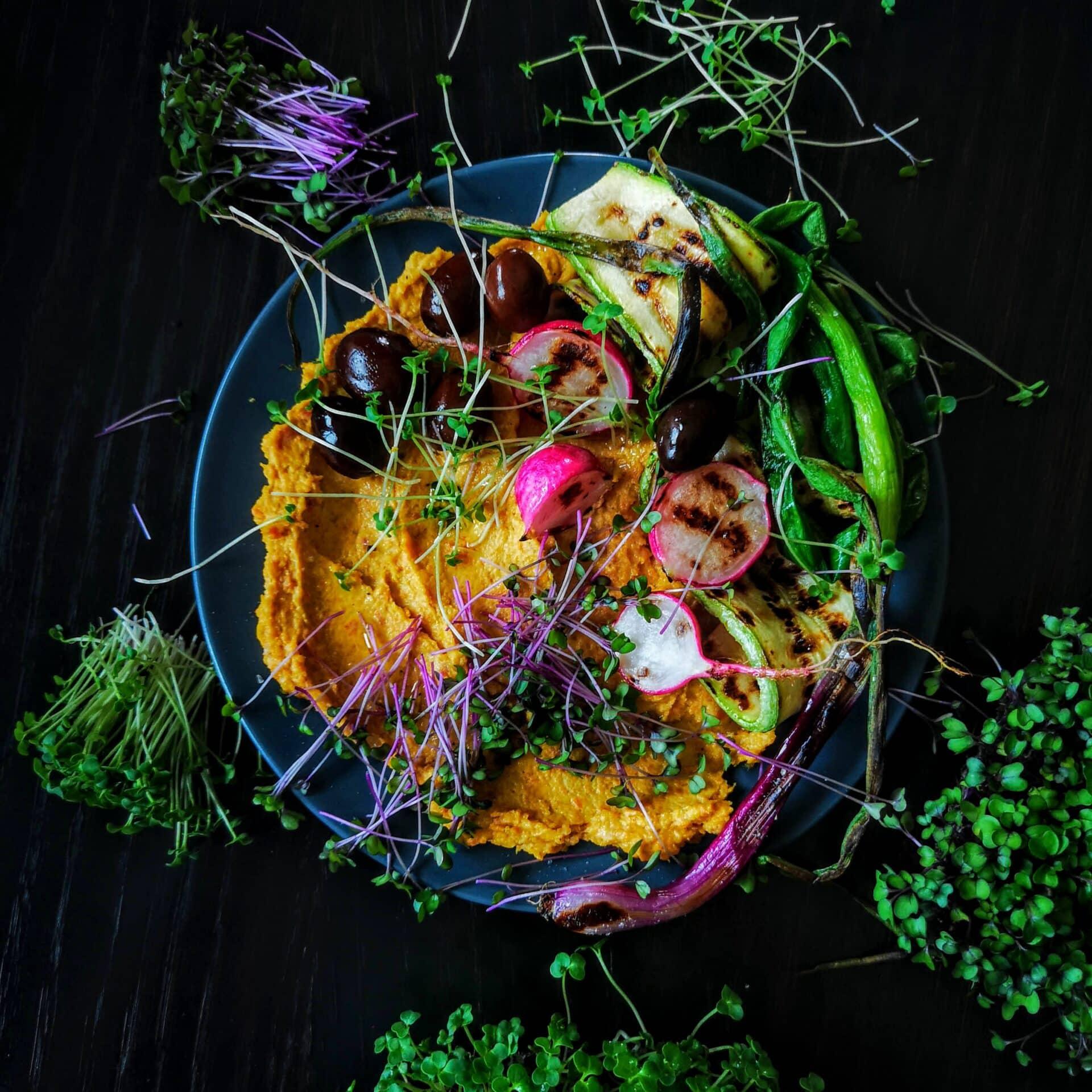 хумус нисковъглехидратен без нахут