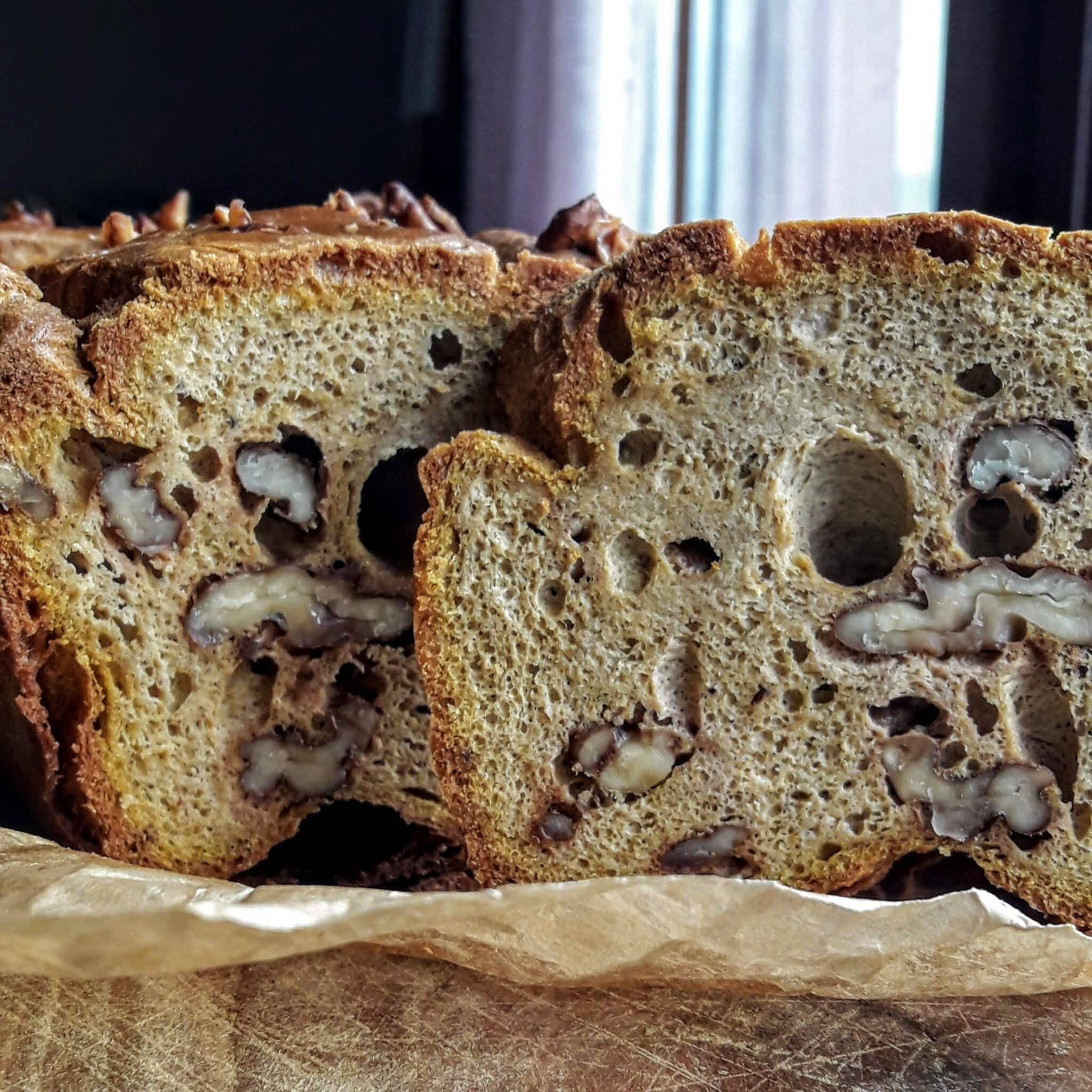 Хляб с тиква и орехи