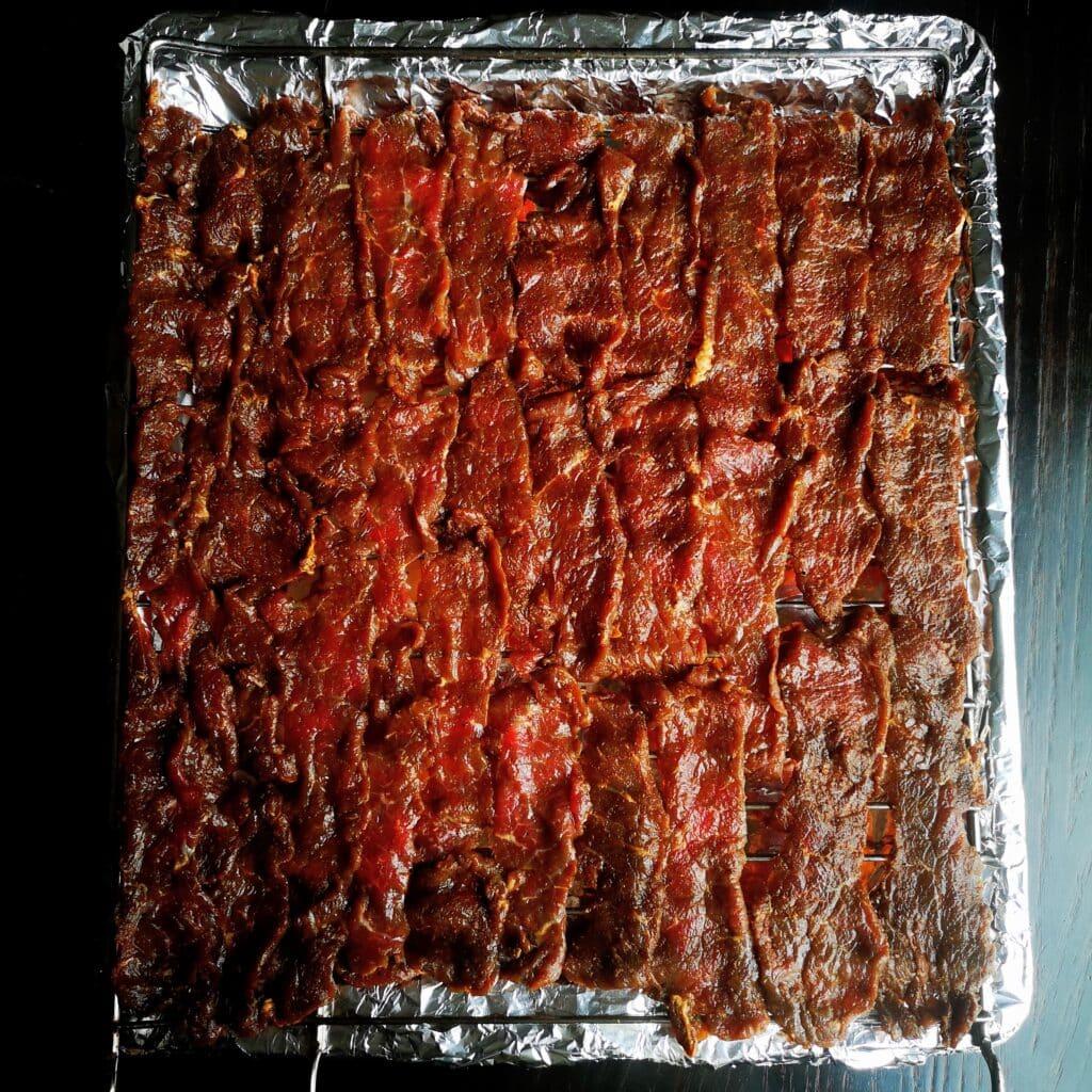 Сушено телешко месо във фурна