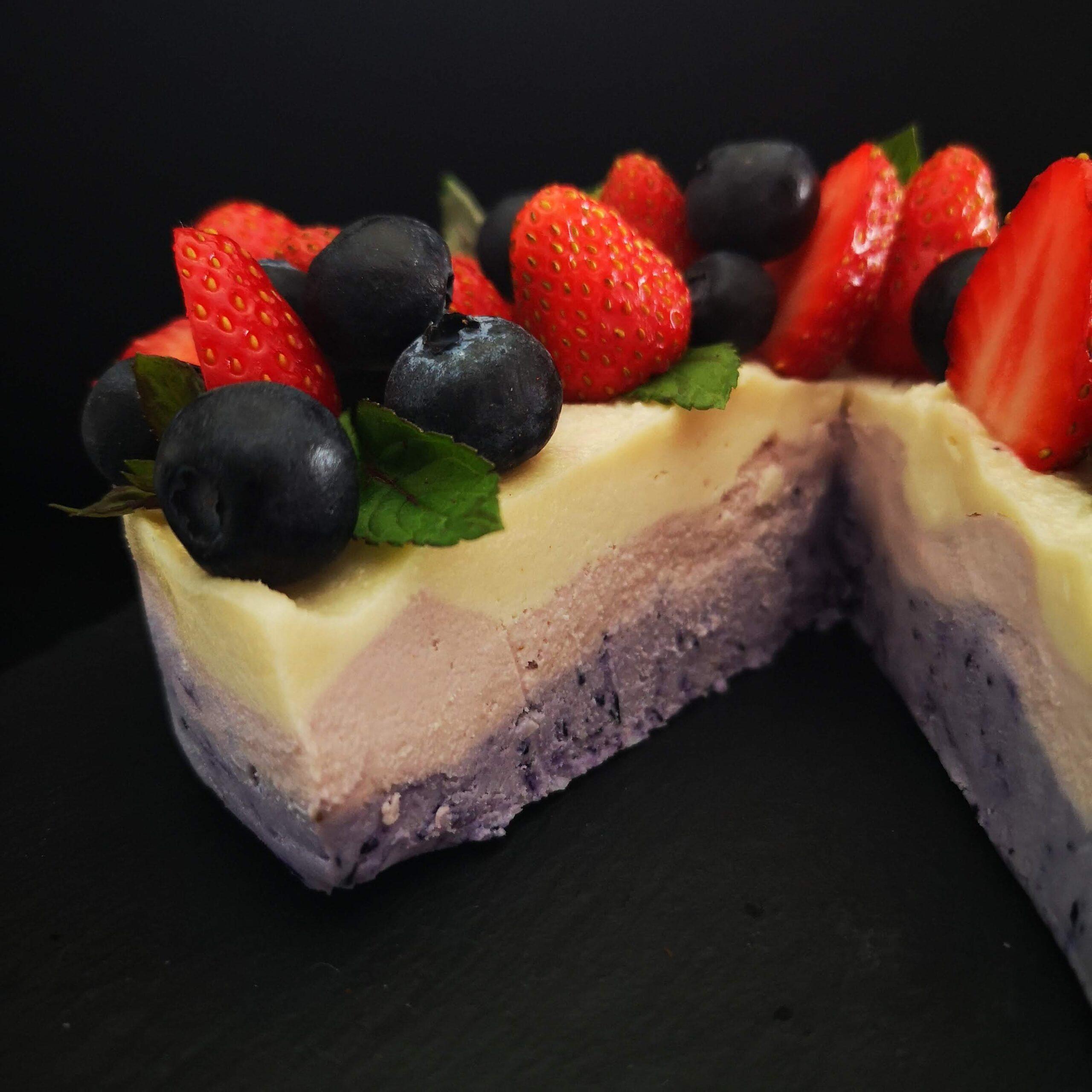 Сурова торта Омбре
