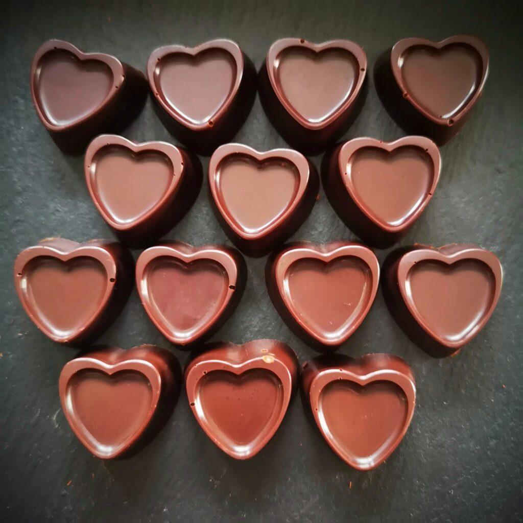 Ментови шоколадови бонбони