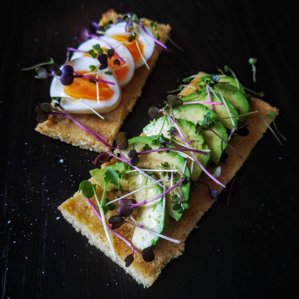 Масленки - основа за сандвичи