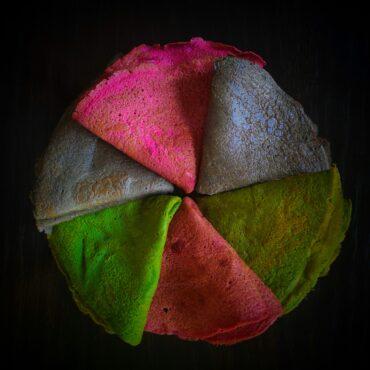 Цветни палачинки